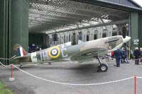 Click for a larger image - Spitfire VB BM597 - Photo courtesy of www.duxford-update.info