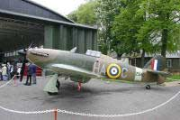 Click for a larger image - Hurricane XII 'Z5410' - Photo courtesy of www.duxford-update.info