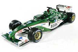 The Jaguar Formula 1 racing car that will be on show at the Merlins Over Malta day
